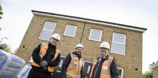 modular housing, Newton Aycliffe,