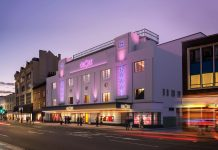 Grade II listed Art Deco theatre,