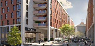 build-to-rent homes, moda living, caddick construction