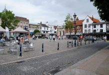 High street, town centres,