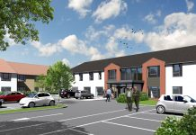 extra care development in Filey,