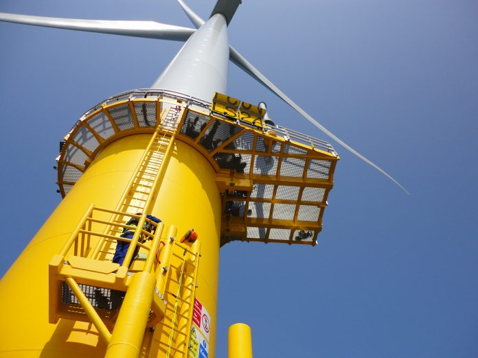 offshore wind sector, engie