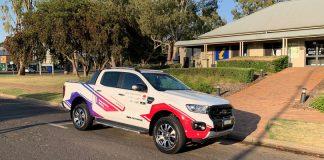 autonomous pickup truck, Australia