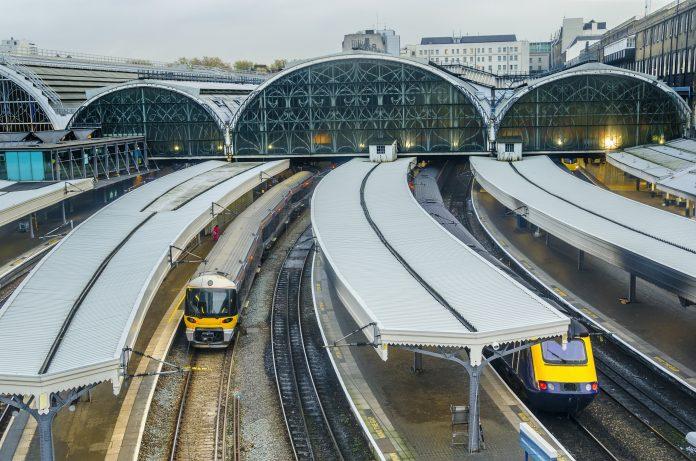 Regions, network rail