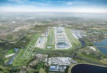 Tracking system, Heathrow, offsite