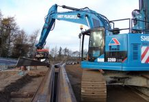 excavation support solutions, sheet piling