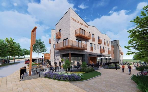 ebbsfleet garden city, pub and hotel