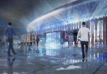 new stadium at Bramley-Moore Dock, Everton,