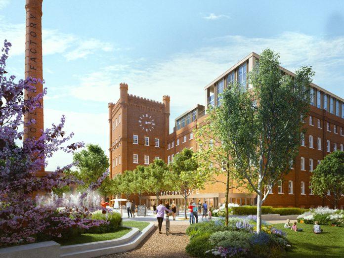Horlicks factory, slough, planning permission, horlicks regeneration