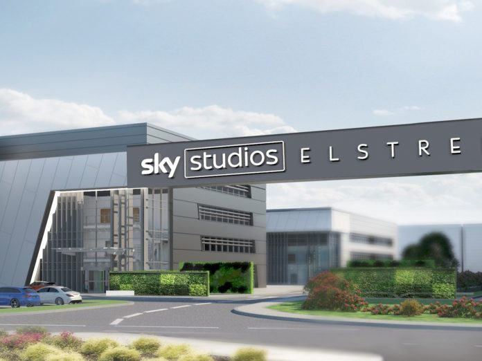 sky elstree, tv and film