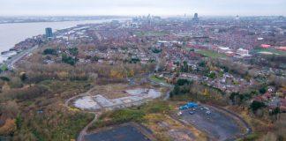 former landfill site, green community