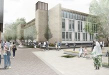 refurbishment project, London south bank university,