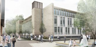 refurbishment project, London south bank university,
