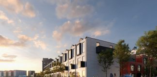 modular homes at Wirral Waters,