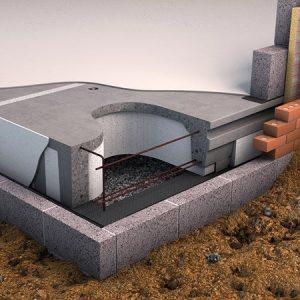 Insulated precast concrete,