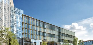science and engineering building, John Dalton West,