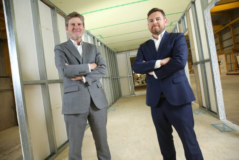 Directors of ESS Modular, Paul Tierney and Ronan Smyth