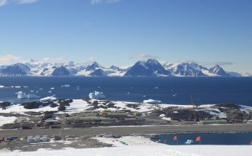 Rothera Research Station, Antarctic,