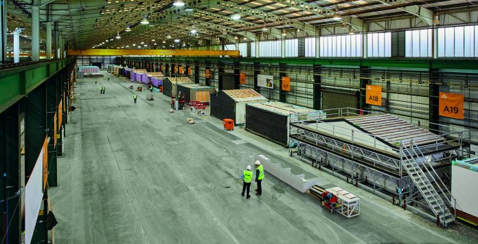 Public sector investment, housebuilding, offsite manufacturing