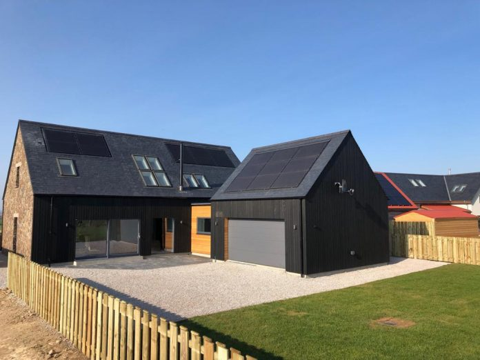 sustainable homes, timber frame, Scotframe and Cairnrowan,