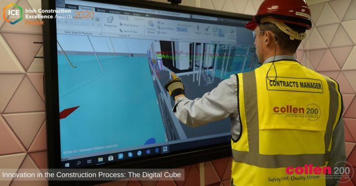 Digital Cube, digital technology, construction,