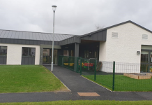 Nursery extension, Ullapool Primary School, Morgan sindall,