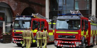 Trinity Halls, fire safety,
