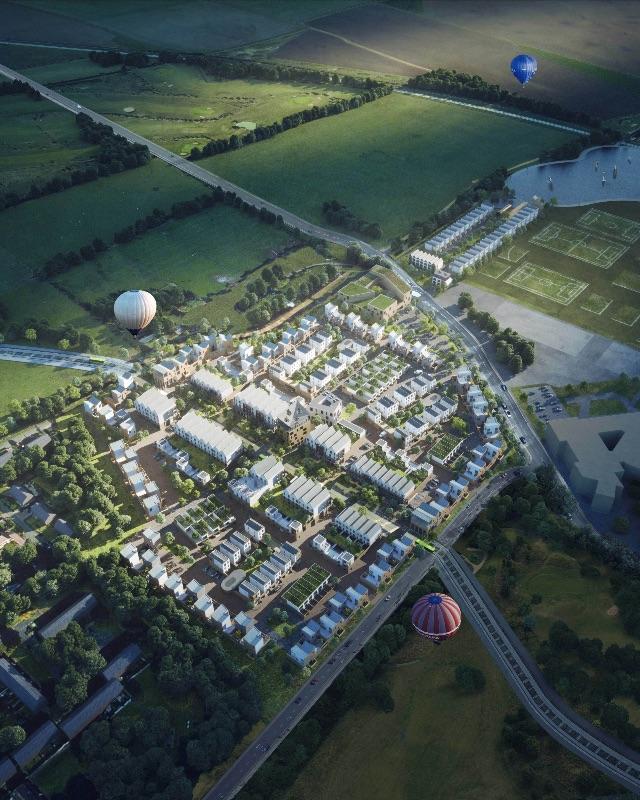 Northestowe, Inholm, modular neighbourhoods,