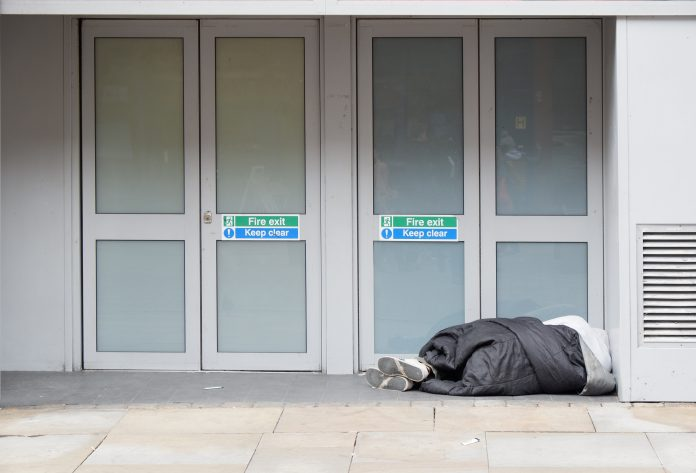 Rough sleeping, Government funding,