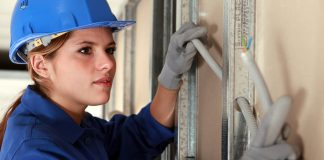 Female electrical apprenticeships,