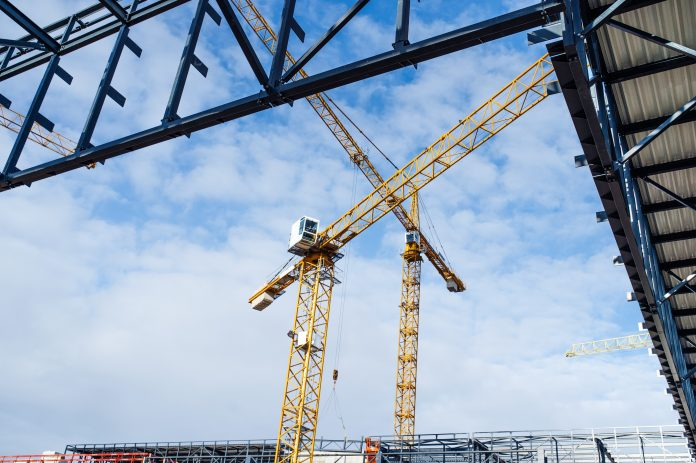 Construction contract awards,