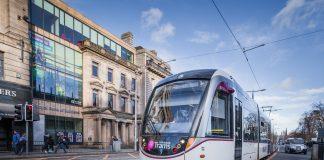 Trams to Newhaven, coronavirus, Construction work