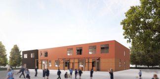 Merritts Brook Primary School in Frankley,