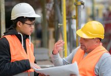 construction job, young people in construction,