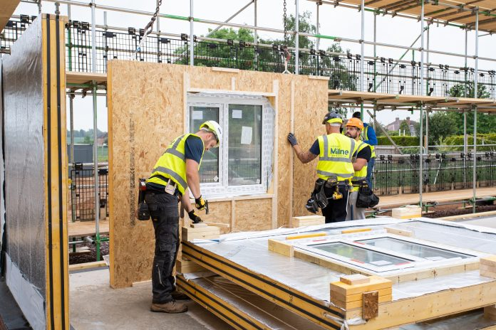 Timber frame, offsite construction, modular homes,