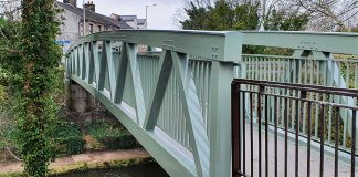 lightweight bridge, aluminium bridge, sustainable bridge,