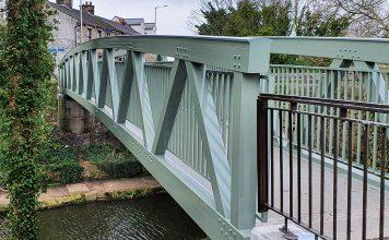 lightweight bridge, aluminium bridge, sustainable bridge,
