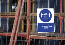 construction sites,