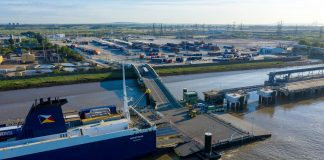 unaccompanied freight, Forth ports, Tilbury2