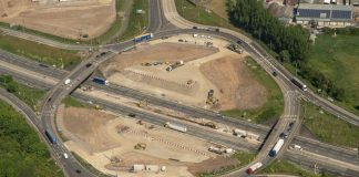 M6 junction,