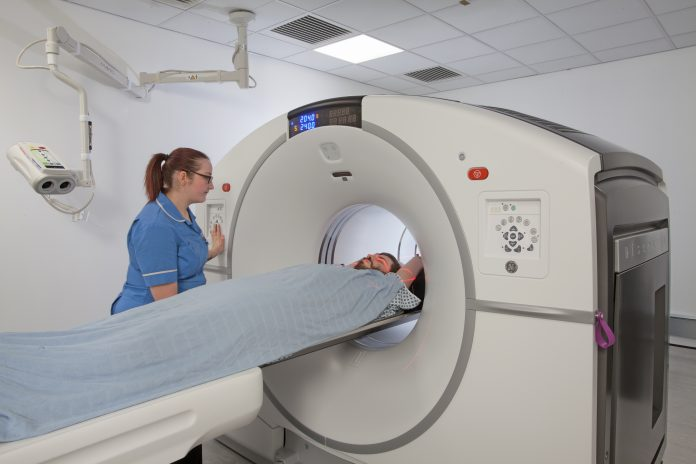 Modular PET-CT scanning,