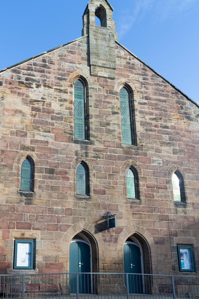 Hindmarsh Hall, secondary glazing,
