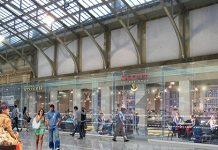 refurbishment of Aberdeen station,