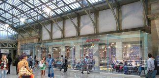 refurbishment of Aberdeen station,