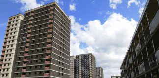high-rise blocks, installation of sprinklers,