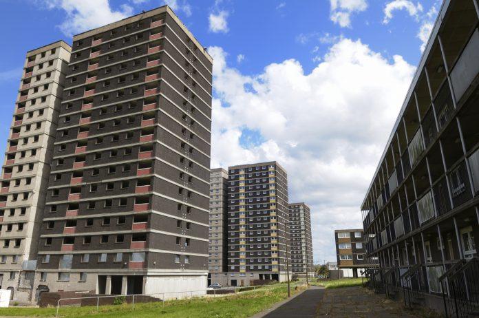 high-rise blocks, installation of sprinklers,