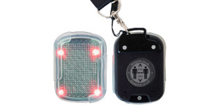 electronic warning tags, social distancing,
