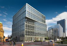 net-zero office scheme, 4 Angel Square,