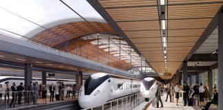 Overhead Catenary System, HS2