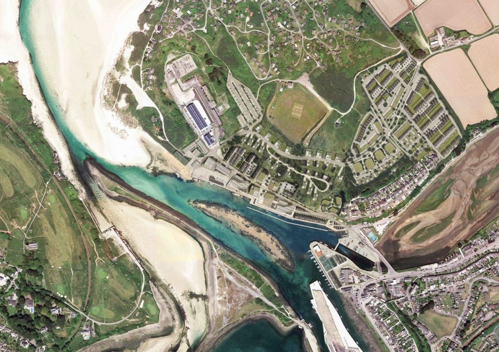 regeneration of North Hayle Harbour
